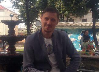 Микола Холодяй з гурту Ферум